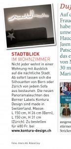 Presse- Artikel Schweizer Familie